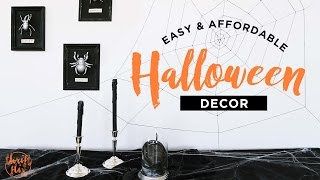 Diy Halloween Decor | The Sorry Girls
