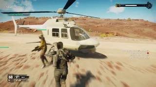 Just Cause 4 – Training: Seek and Destroy - Helicopter Training