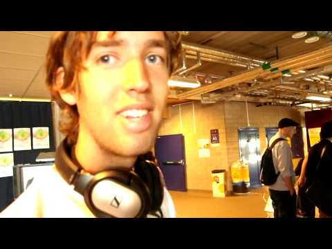 Jonas&Petrus before Hans Rosling interview