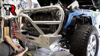 GenRight Bumpers, Fenders, Rock Sliders and Tire Carrier
