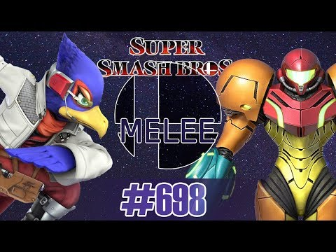 Super Smash Bros Melee 20XX [4.07++] Falco vs Samus - FASTER MELEE | #698