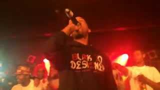 Juelz Santana - Mic Check & Oh Yes (BB King's performance)