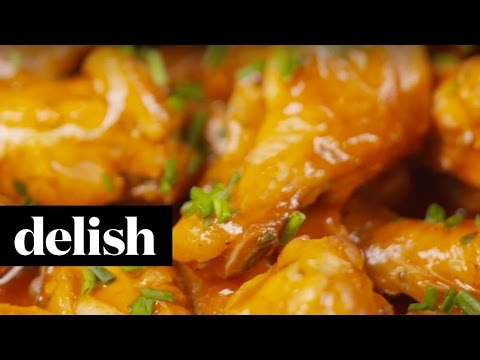 How To Make Slow-Cooker Buffalo Ranch Wings | Delish