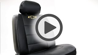 Plasticolor Chevy Black Sideless Seat Cover - Pep Boys