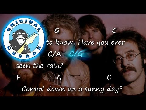 Creedence Clearwater Revival - Have You Ever Seen The Rain? - Chords ...