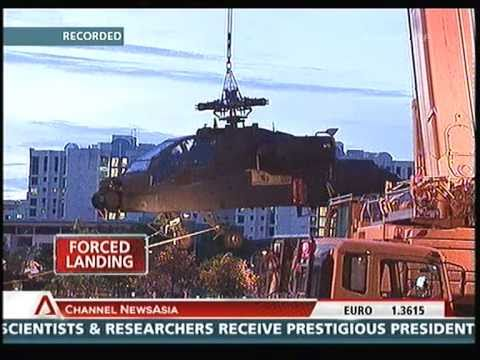 Singapore Apache AH-64 Down!! - 30 Sep 2010