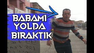 BABAMI ARABA SÜRMEYİ ÖĞRETİRKEN KIŞKIRTTIK! - ( YOLUN ORTASINDA BIRAKTIK )!