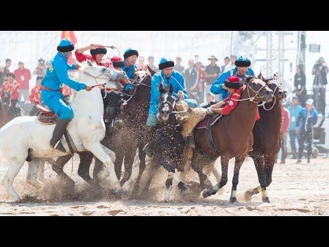 Супер серия игр Кок бору vs Кокпар Кыргызстан-Казахстан WNG 2016