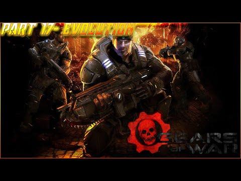 Gears of War Walkthrough Gameplay Part 17- Evolution (Xbox One X)