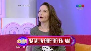 Natalia Oreiro . Entrevista en AM (18.8.2015)