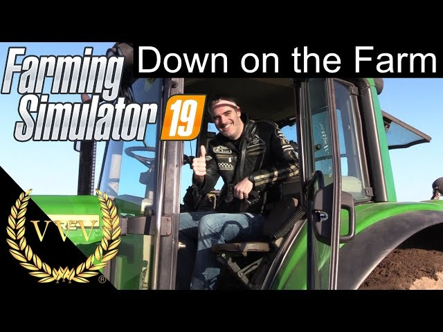 Tractor Racing with Farming Simulator 19
