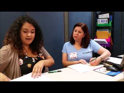 Conducting a Tax Interview English