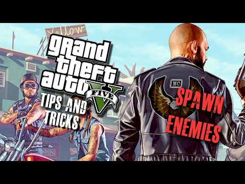 HOW to Spawn Enemies - Director Mode PS4/Xbox One/PC (GTA 5)