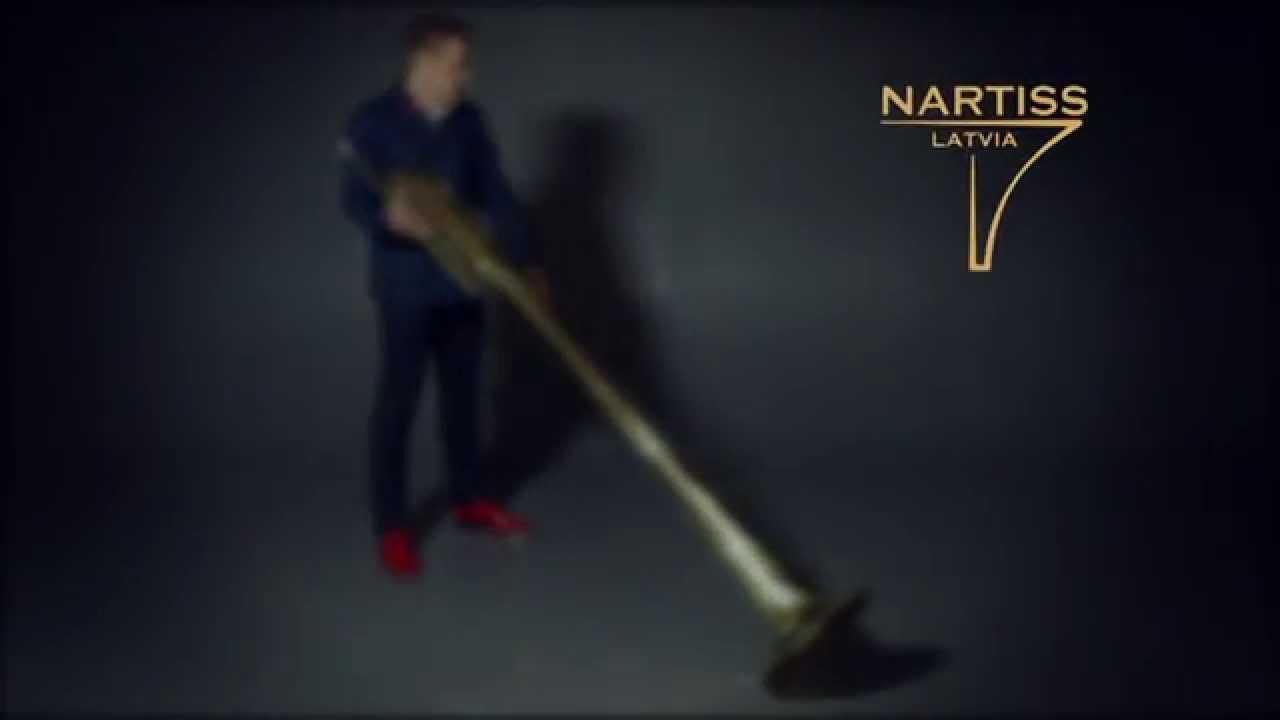Subcontrabass Trumpet NARTISS NATU711-1 - YouTube