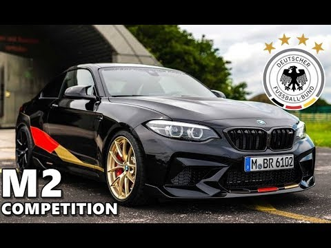 bmw m2 competition with german football team design youtube. Black Bedroom Furniture Sets. Home Design Ideas