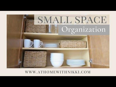 SMALL SPACE ORGANIZATION | KITCHEN ORGANIZATION | Apartment Living