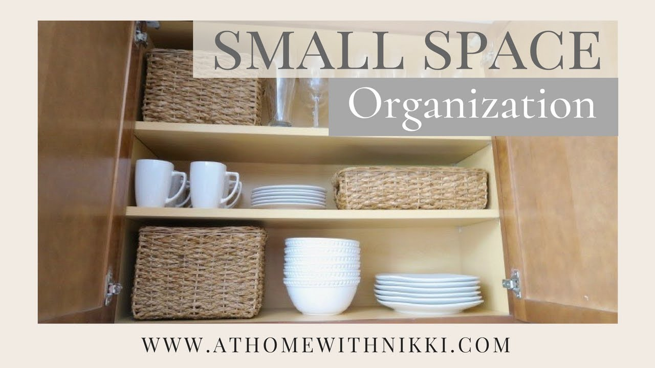 Small Space Organization Small Space Organization Kitchen Organization Apartment Living