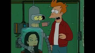 Futurama ITA - Bender e Lucy Liu si amano