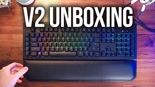 Razer Blackwidow Chroma V2 Unboxing!