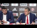 Live Press Conference Olympiacos Piraeus - Real Madrid Baloncesto