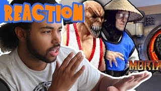 MORTAL KOMBAT: EPIC RAP BATTLE! (SSJ Carter Reaction)