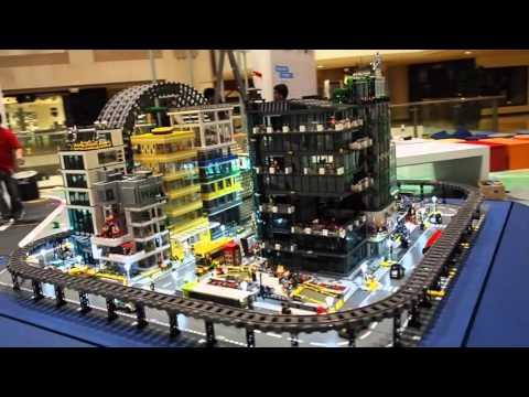 Bricks User Group Singapore (BUGS) LEGO MOC City Display