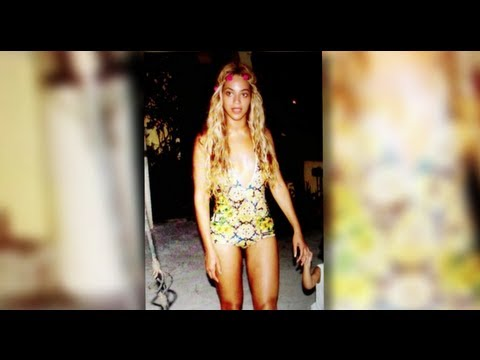 Beyoncé Shows Off Her Amazing Figure in a Swimsuit
