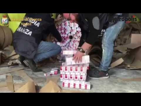 """Blitz della Guardia di Finanza di Napoli: 10 tonnellate """"bionde"""" sequestrate e 3 arresti."""