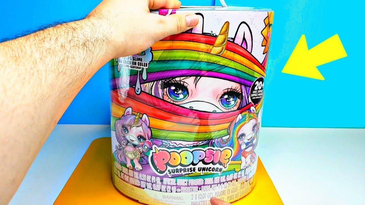 радужная единорожка с сюрпризами Baby Unicorn Surprise Poopsie пупси слайм сюрприз единорог
