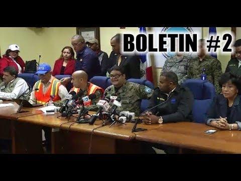 Huracan Maria - COE Boletin #2 Centro Nacional de Emergencia (21/09/2017 10:00 AM)