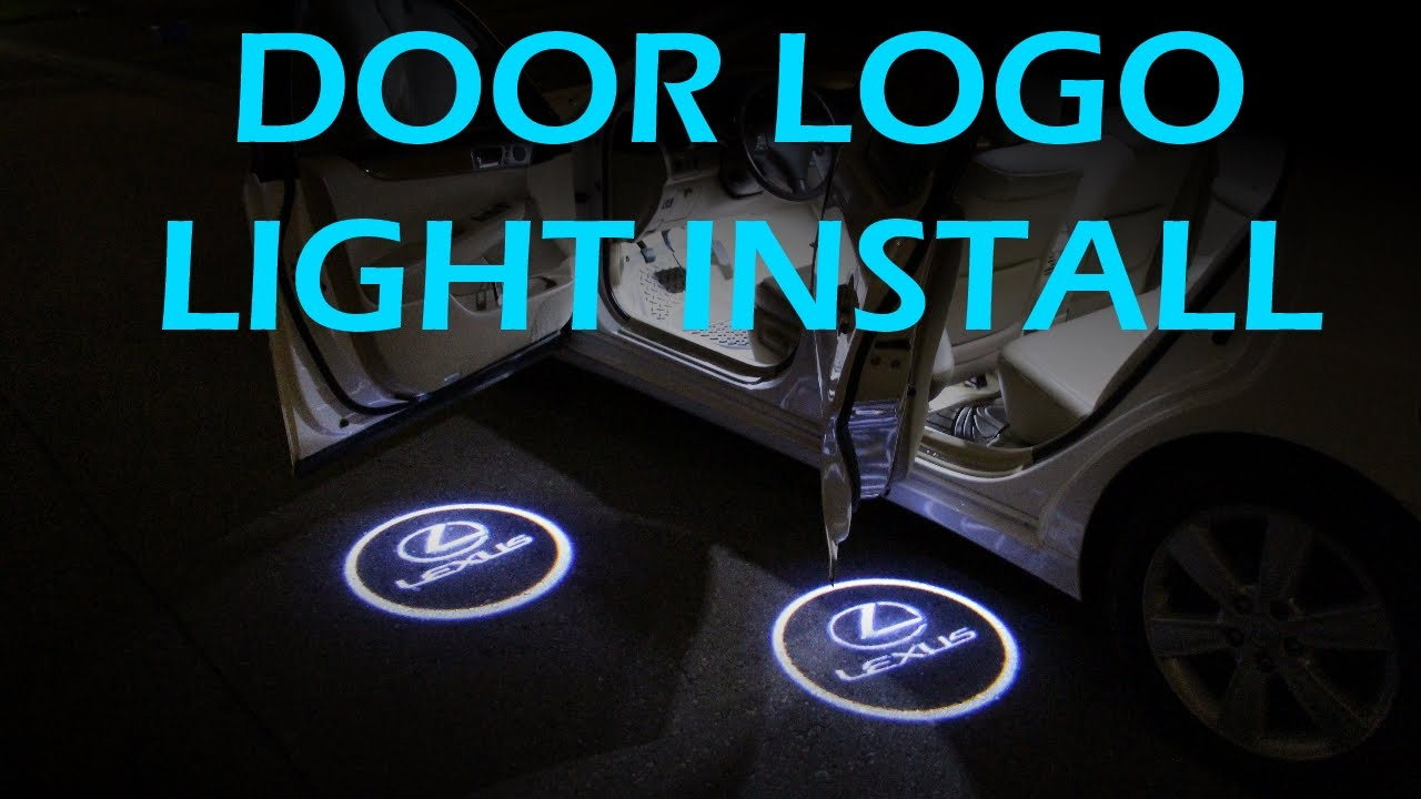 Door Welcome Logo Lights Installation Youtube Wiring Diagram Spotlights Car