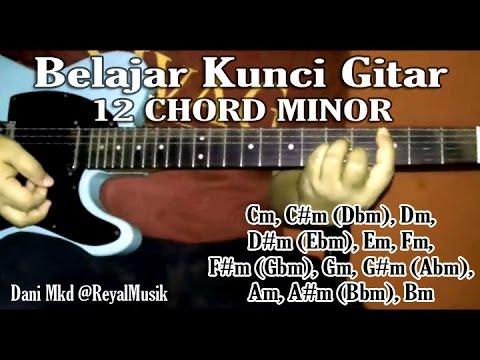Belajar Gitar Dasar - 12 Chord / Kunci Minor - Kupas Tuntas Untuk Pemula