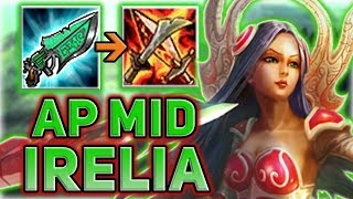 AP IRELIA MID! THIS IS ONE OF MY FAVORITE TROLL PICKS - Patch 7.15