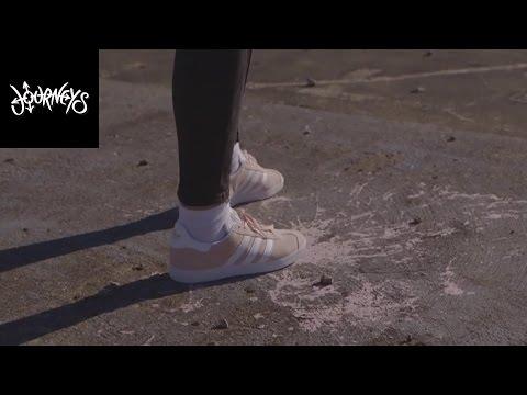 Journeys | Adidas Gazelle Pink/White