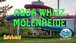 Groene glijbaan, Super Aqua Whizz on-slide Molenheide NEW version