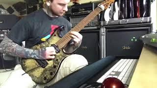 zedd shredd   addicted to a memory outro guitar cover