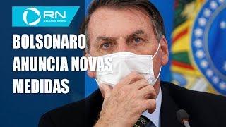 Presidente Jair Bolsonaro Anuncia Novas Medidas Adotadas Pelo Governo
