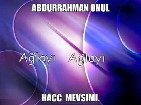 ABDURRAHMAN ÖNÜL AGLAYA AGLAYA