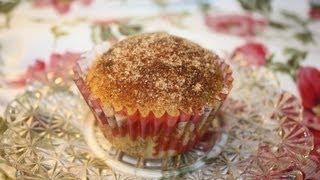 Cinnamon Glazed Muffins / Kanelglaserade Muffins