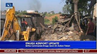 Sirika Commends Enugu Govt On Demolition Of Market 18/05/19 Pt.2  News@10 