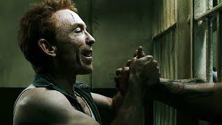 Rorschach in prison cell vs dwarf and henchmens - Watchmen 2009
