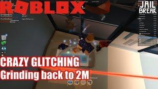 Roblox: JailBreak: FUNNY GLITCHES!!! | Grind Zurück zu 2 Millionen