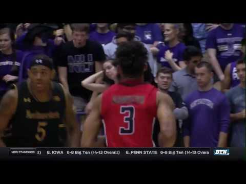Rutgers at Northwestern - Men's Basketball Highlights