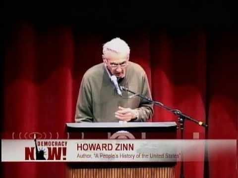 "Howard Zinn on ""War and Social Justice"" (2008) [HQ, full]"