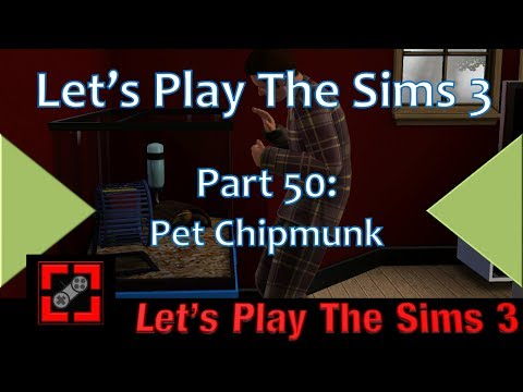 Let's Play The Sims 3: Part 50 - Pet Chipmunk