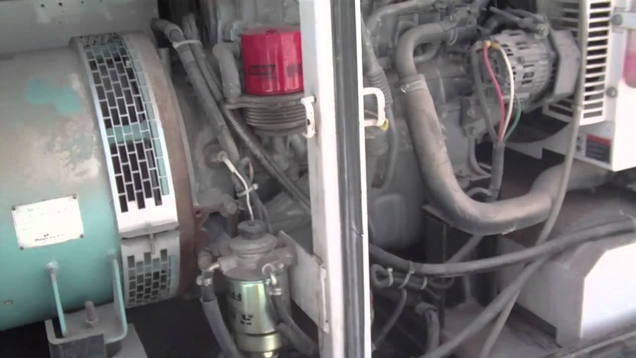 Isuzu Generator manual Bb 4jg1t