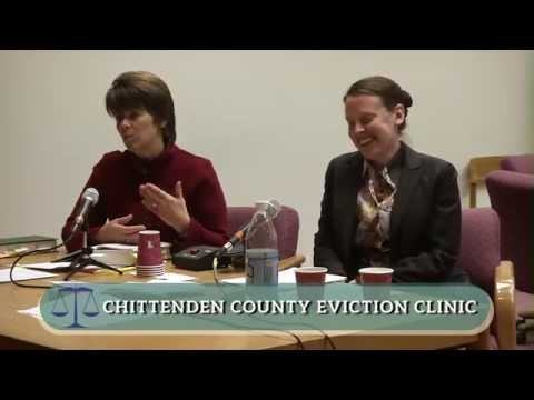 Chittenden County Eviction Clinic, January 6, 2015