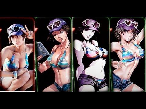 Tekken Tag Tournament 2 All Panels Youtube