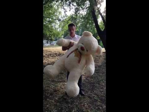 Большие плюшевые мишки и медведи в Уфе