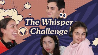 The Whisper Challenge with the Sibbies! 🎧 | Janine Gutierrez